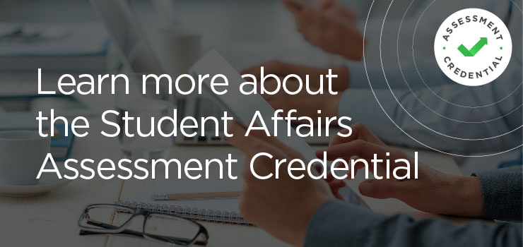 Student Affairs Assessment Credential
