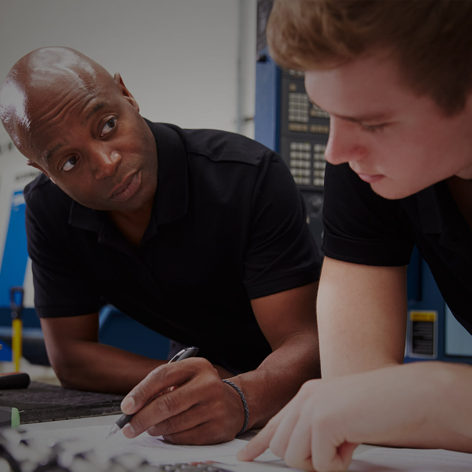 Engineering students learning through experience