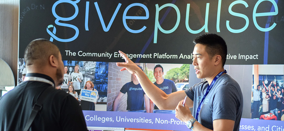 Givepulse booth