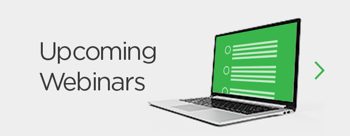 Upcoming Webinars
