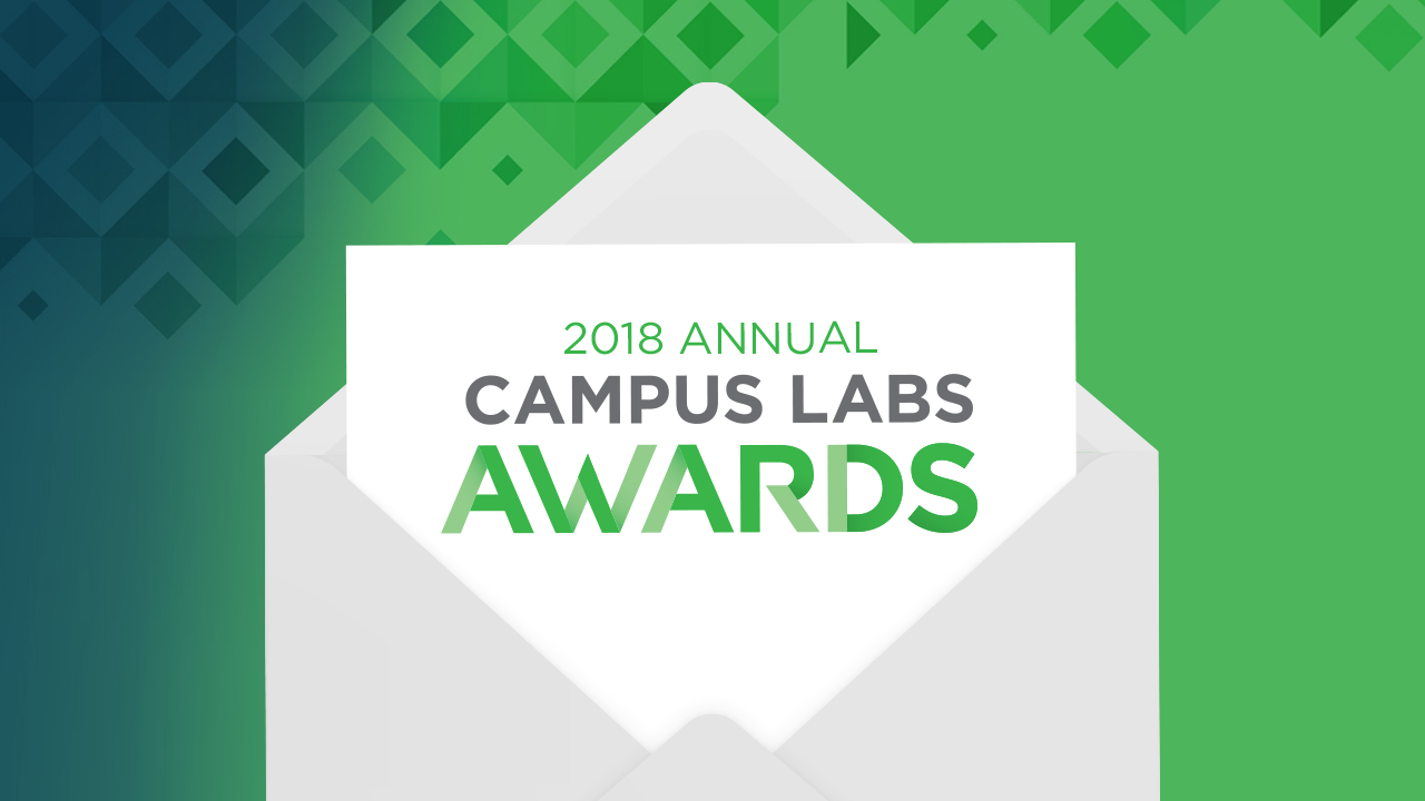 2018 Campus Labs Awards Envelope