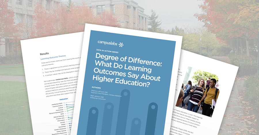 Degree of Difference: What Do Learning Outcomes Say About Higher Education?